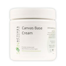 Skin Actives Canvas Base Cream with Hyaluronic Acid, Avocado and Jojoba Oil