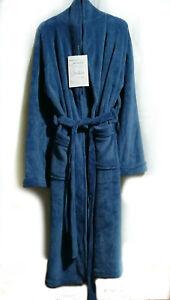 Pantone Blue Fleece Robe