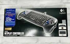 🔥Logitech Netplay Controller for PS2 PS1 PS Sony PlayStation USB Keyboard Game