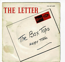 "The BOX TOPS Vinyl 45 tours SP 7"" THE LETTER - HAPPY TIMES - STATESIDE 507 RARE"