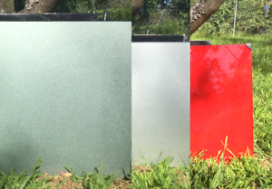 NEW GLASS SPLASHBACK RED / GREY