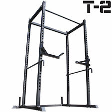 Titan T-2 Series Power Rack + Dip Bars Squat Deadlift Cage Bench stand pull up