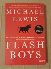 Libro de Michael Lewis Flash Boys Best seller