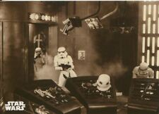 Star Wars ANH Black & White Sepia Base Card #84 Back-up Arrives!