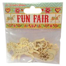'Fun Fair by Helz Cuppleditch' Wooden Shapes
