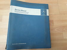 mercedes service manual. passenger cars starting August 1959