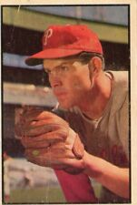 Robin Roberts Philadelphia Phillies 1953 Bowman Color Baseball Card Number 65