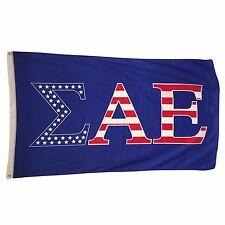 Sigma Alpha Epsilon SAE USA Letter Flag 3' x 5'