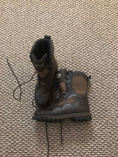 "Irish Setter Red Wing Men Gunflint 11"" Waterproof Hunting Boots 800 Gram sz 9D"