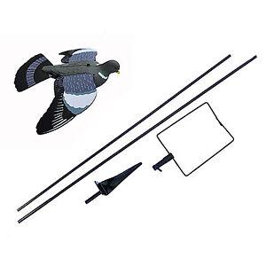 Flying Pigeon Decoy floater bouncer pole decoying kit shooting - DECOY DEALS