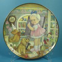 Carol Lawson Collector Plate TEACHER'S PET 1982 Japan Franklin Mint