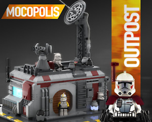 LEGO MOC Star Wars Clone Base Outpost | PDF instructions (NO PARTS)