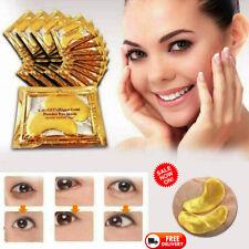 140x Premium Crystal Collagen Gold Powder Eye Masks Face Pad Anti Ageing Wrinkle