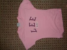 LEE-LADIES T-SHIRT TOP SIZE 6-8 CASUAL EVERYDAY SUMMER HOLIDAYS LOUNGE GRAPHIC