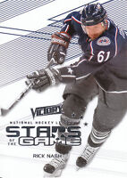 10/11 UPPER DECK VICTORY STARS OF THE GAME RICK NASH BLUE JACKETS *10049