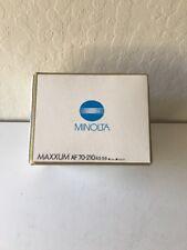 Minolta Maxxum AF Zoom 70-210mm f/4.5-5.6 Telephoto Zoom Lens Minolta BRAND NEW
