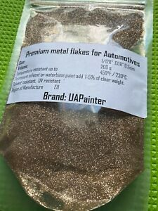 Powder Coating Paint Champagne Gold Sparkle Metal Flake additive for auto, bike