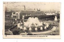 exposition internacional de barcelona 1929 fontaine monumentale