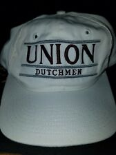 VINTAGE UNION DUTCHMAN FOOTBALL SNAPBACK HAT CAP  NEVER WORN MADE BY THE GAME !