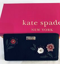 Kate Spade Women Purse Stacy Laurel Way Emb Black multi 4990