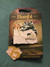 Disney 75th Anniversary D23 Le 3000 Hinged Pin Bambi Thumper Flower Snow