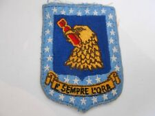 USAF  cloth bomber   squadron patch  eagle with bomb in beak