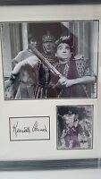 kenneth connor carry on genuine hand signed 20x16 inch professionally framed