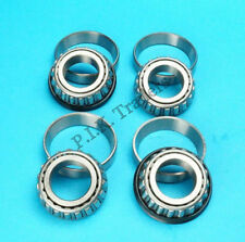 """2 x Wheel Bearing L44643 44610 to fit 1"""" Axle for 4"""" PCD Trailer Hubs  #KIT100"""