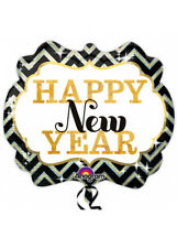 Happy New Year Marquee Supershape Helium Balloon