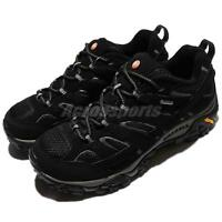 Merrell Moab 2 GTX Gore-Tex Vibram Black Grey Men Outdoors Trail Shoes ML06037