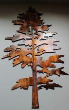 "Majestic Pine Tree 24"" Metal Wall Art Decor"