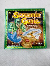 Vtg 1992-93 Golden Screamin' Genie Game All Pieces & Instructions Very Rare