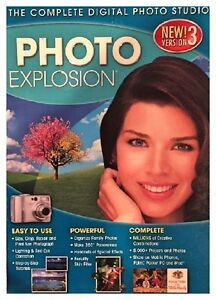 Photo Explosion Version 3 Pc New Boxed Easy To Use Millions Of Creative Combos
