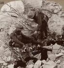 Giving Water to a Wounded Pal Beside a Hun Block-House Shattered in our Advance