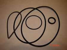 8mm Mansfield Baskon Holidays Projector Belts,Complete 5 Belt Set with feed tire