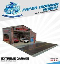 1:64 Garage EXTREME Workshop - Diorama Building Kit for Hot Wheels Diecast Cars