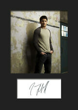 JAMES LAFFERTY #1 A5 Signed Mounted Photo Print - FREE DELIVERY