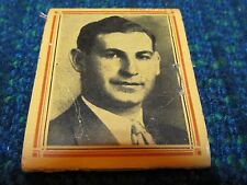 Vintage Sewing Mender Needle & Thread Case Matchbook Type + Picture Early Sample