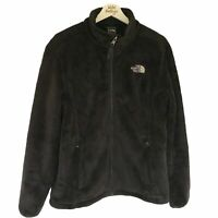The North Face Women's Large Black Fleece Teddy Thick Denali Furry TNF L Jacket