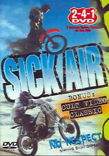 Sick Air (DVD, 2006) Motorcycle Sports WORLDWIDE SHIP AVAIL!