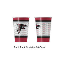 New 20pc NFL Disposable Party Supplies Paper Cup Cups Atlanta Falcons