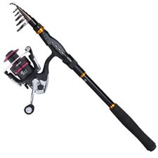 Goture Fishing Rod Combo 2.1M-3.6M Telescopic Rod Spinning Reel Saltwater