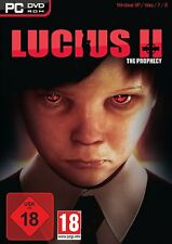 Lucius 2 la profecía (Pc Dvd) Nuevo Sellado