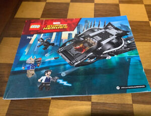 LEGO Instructions Booklet ONLY 76100 Black Panther Royal Talon Fighter Attach