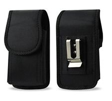 AGOZ Heavy Duty Rugged Belt Clip Loop Pouch Case Holster for Cell Phones