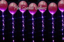 Pink LED Sparkle Ribbon Light - 5 pack