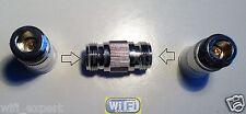1 x Adapter N Female TYPE plug to N female jack RF Barrell Type connector USA