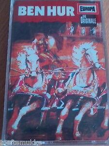 Lew Wallace Ben Hur MC Hörspiel Die Originale Europa Original Stimmen 1971 Neu