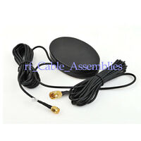 Brand New Amplified Remote GPS+GSM Combined Antenna SMA Male Connector 3M cable