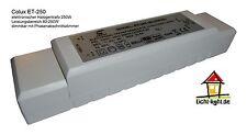 Colux ET 250 Halogen 12V Trafo /elektronischer Transformator 80-250W(VA) dimmbar